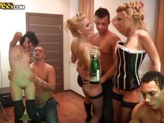 Русский секс в красивом нижнем белье